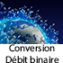 Logo Conversion débit binaire