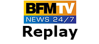 Logo BFM TV Replay